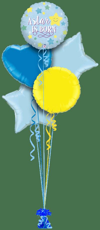A Star Is Born Boy Balloon Bunch