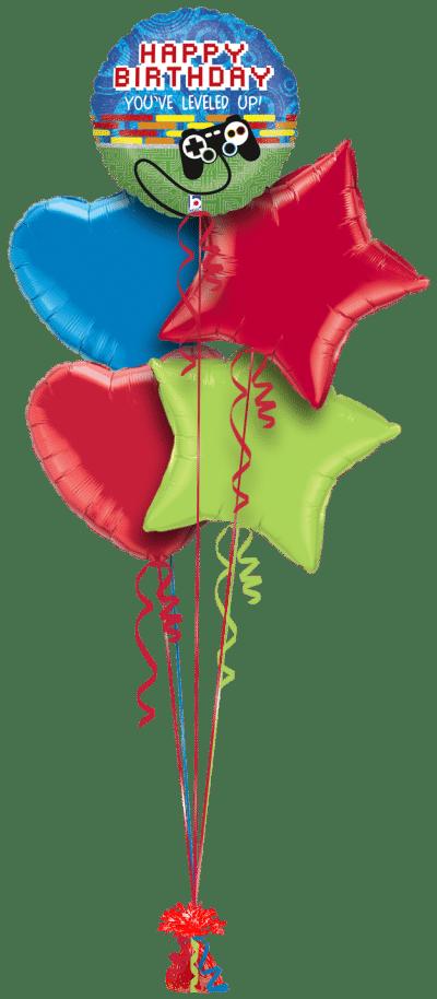Birthday Game Controller Balloon Bunch