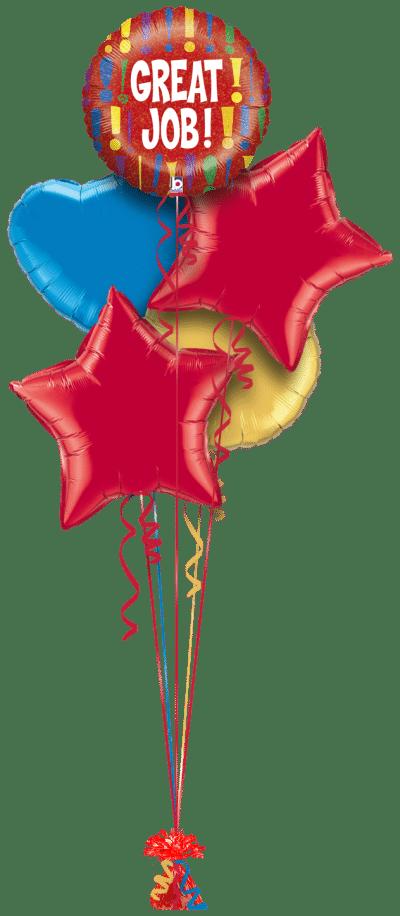 Great Job Balloon Bunch