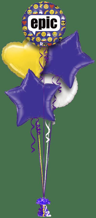 Epic Emojis Balloon Bunch