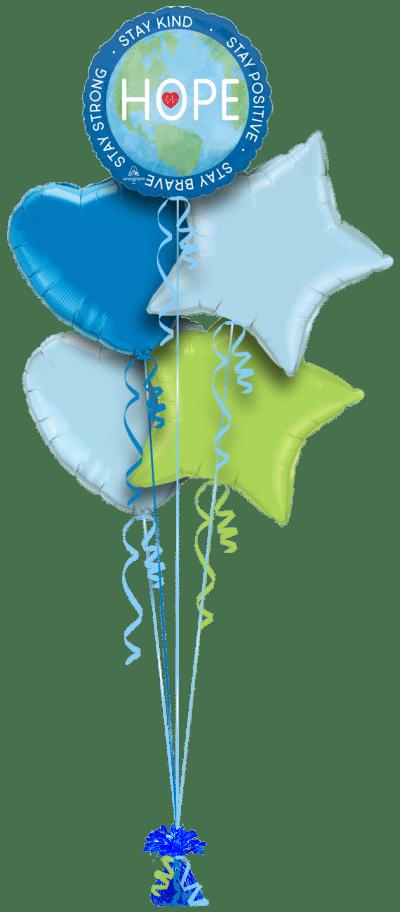 Hope Balloon Bunch
