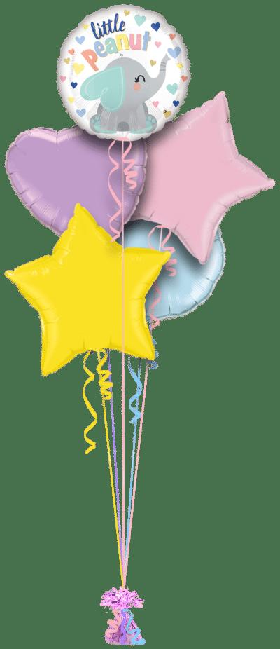 Little Peanut Balloon Bunch