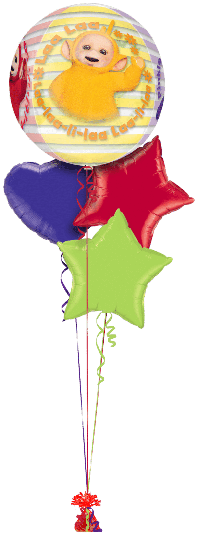 Teletubbies Orbz Balloon Bunch