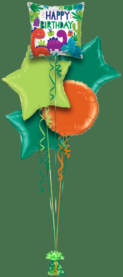 Birthday Dinosaurs Balloon Bunch