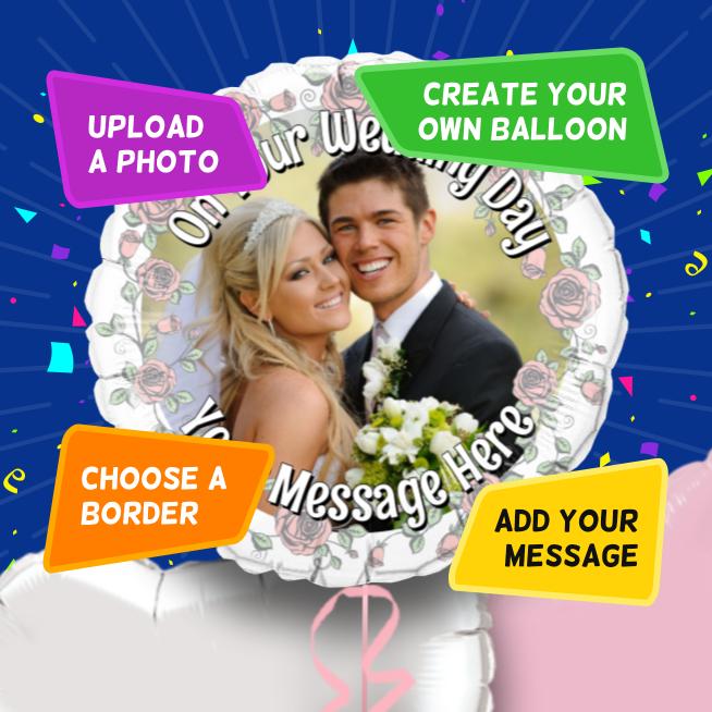 An example of a Wedding photo balloon