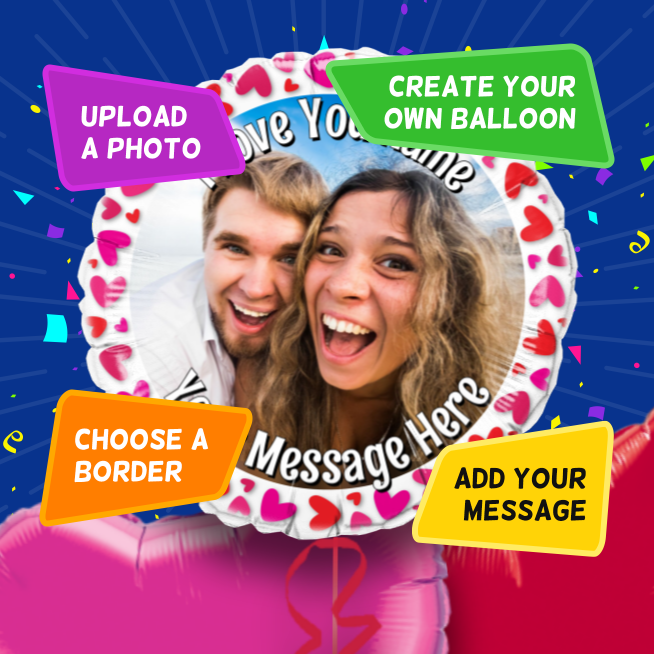 An example of a Love photo balloon